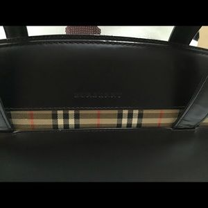 Burberry Bags - Burberry Leather Handbag